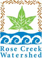 Logo for Rose Creek Watershed Alliance