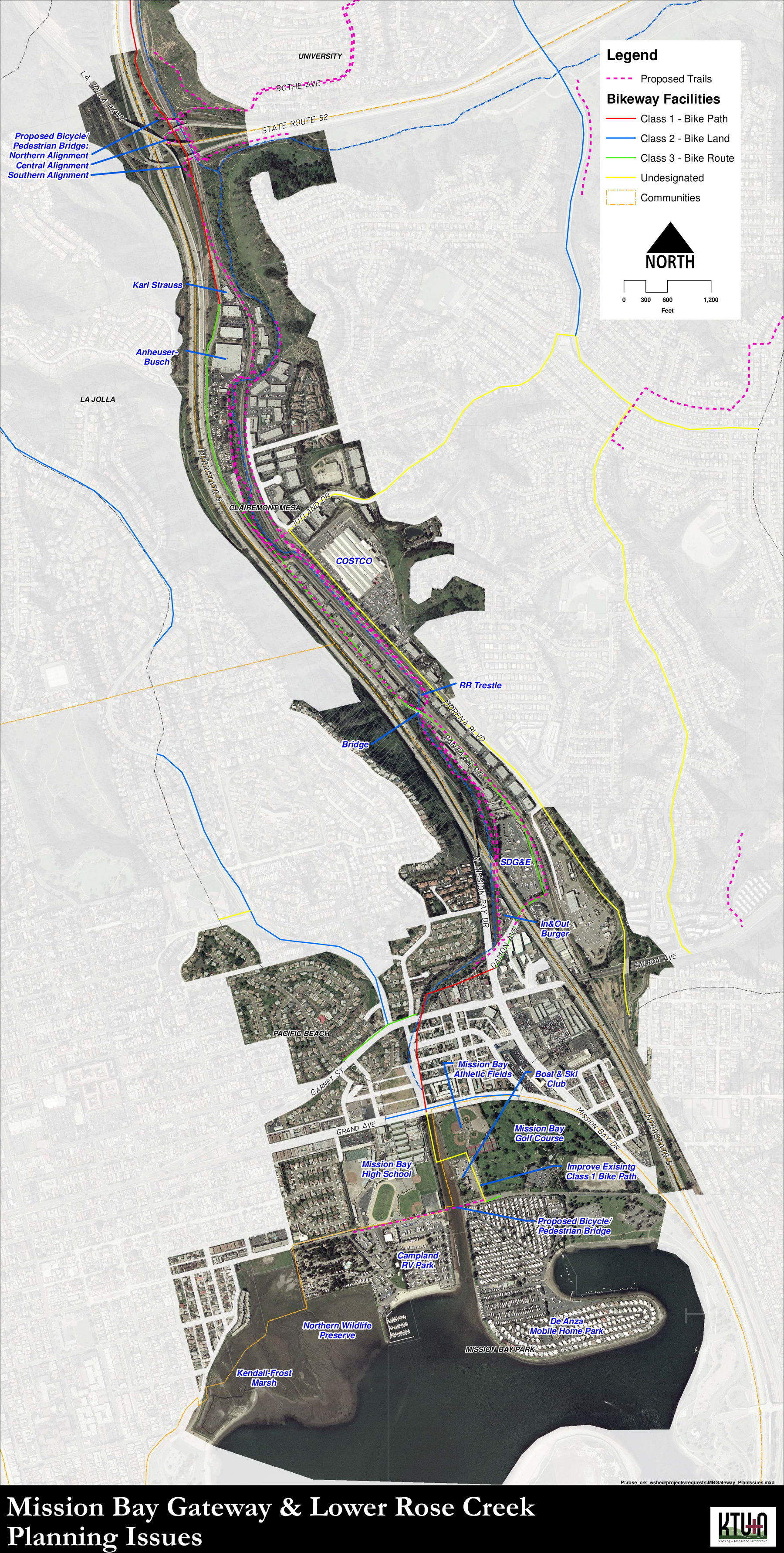 Proposed Lower Rose Creek Park