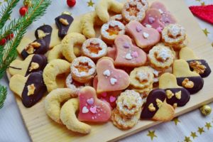 Photo of holiday cookies