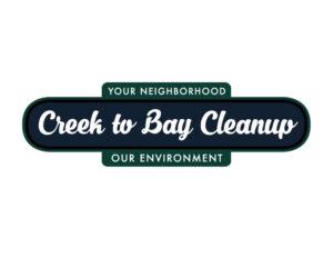Creek to Bay virtual cleanup logo