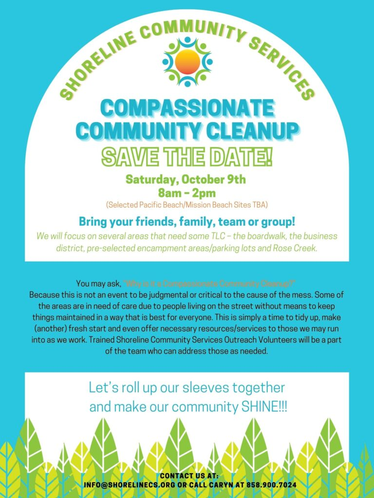 Flyer for October 9th cleanup