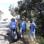 Photo of Volunteers Picking Up Trash